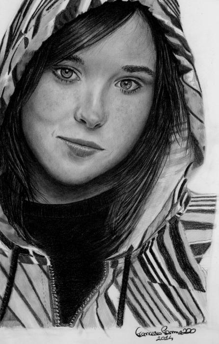 Ellen Page by Francesco